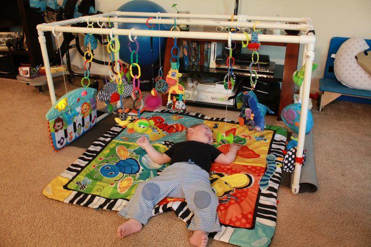 Baby Gym PVC Pipe DIY