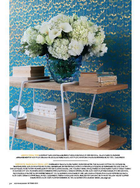 Conde Nast House & Garden Oct 2013 Miniforms Matassa Bookshelf