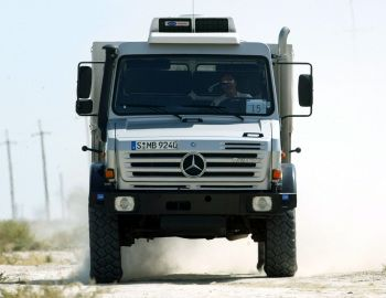 Mercedes-Benz Unimog U5000 (437) '2000–13