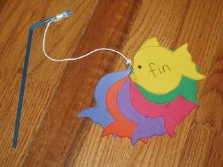 "Ocean Theme:  We learned the ""in"" word family  A, Bee, C, Preschool"