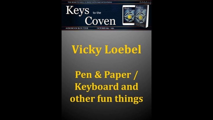 Author Interview with Vicky Loebel Part Five