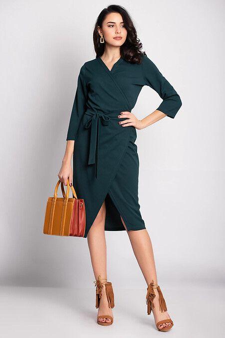 e3926e4ef48 Платье-халат ORLANDA бутылочного цвета Garne 3033068 в 2019 г ...