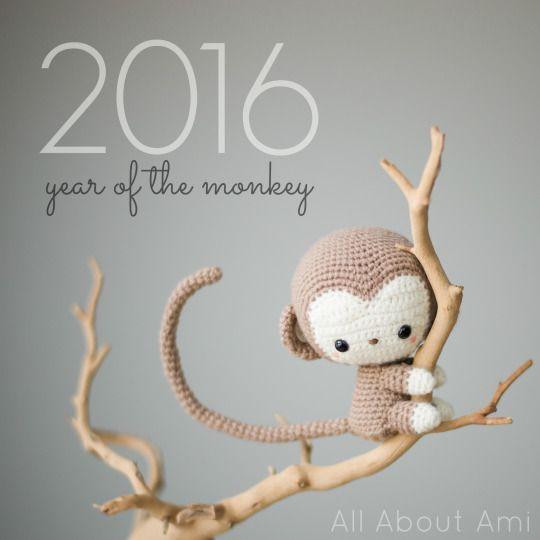 Chinese New Year Monkey - pattern