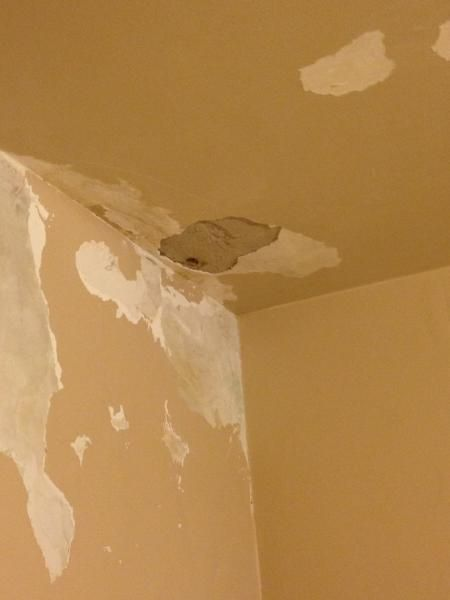 Doityourself Com Community Forums: Ceiling Repair/is This Rock Lath With Lime Plaster? Water