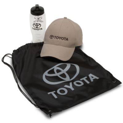 Perfect gift for #FathersDay! Value Grab Bag Gift! Hat, Water Bottle and Drawstring Backpack! Steet Toyota Scion of Johnstown, 310 N. Comrie Ave