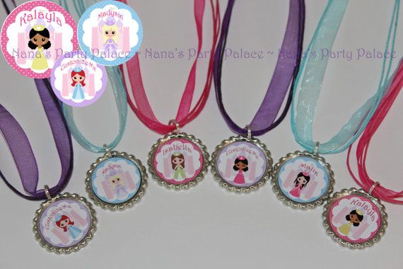 Princes Party Favors  Customized Princess by NanasPartyPalace, $12.00