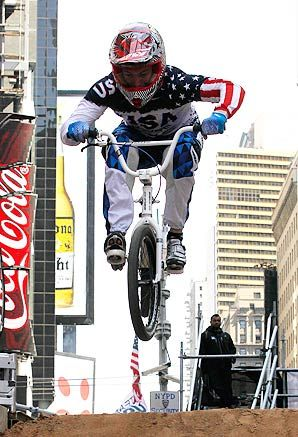Connor Fields  Olympic BMX racing - 2012 US Champ, 2012 Time Trial World Champ