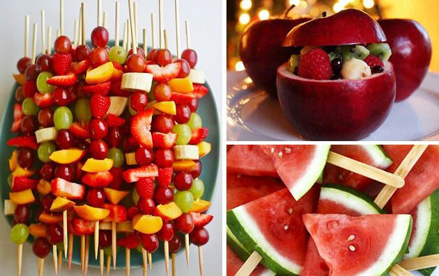 ideias de frutas para festas
