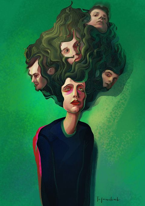 billy milligan paintings - Google Search