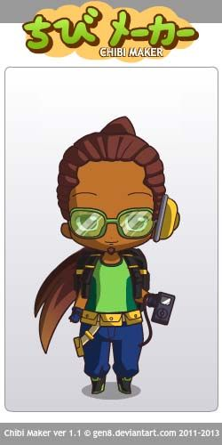 Lúcio (Overwatch) Chibi Maker