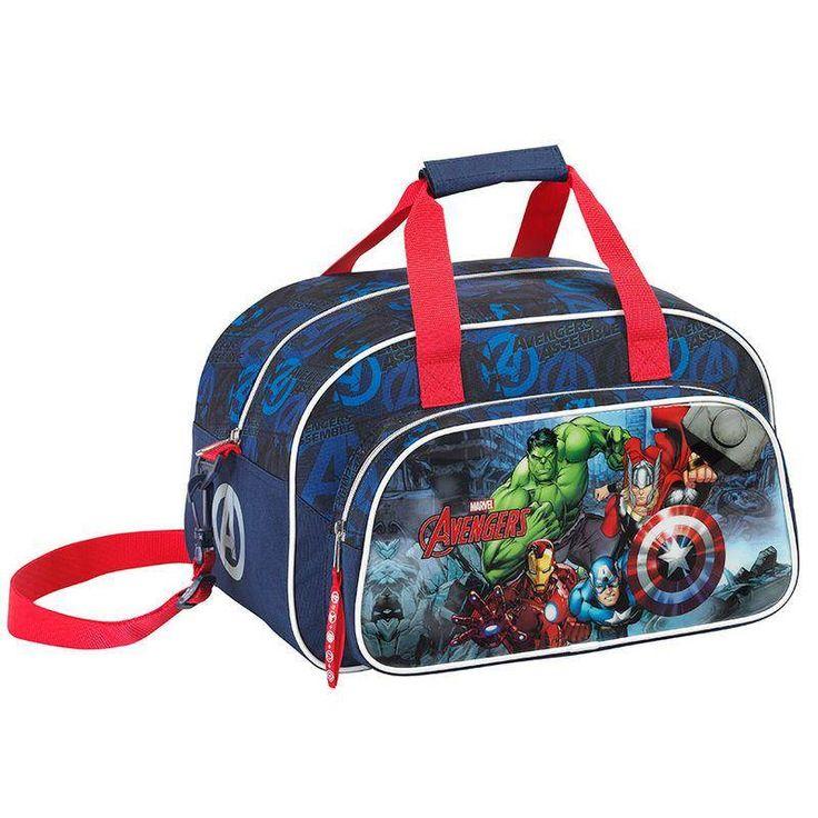 Marvel Avengers Assemble - Sporttas - 40 cm - Blauw