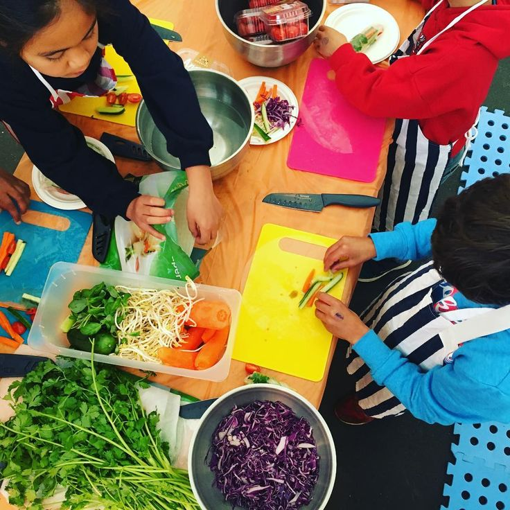 Kids at the @livewellfestival today at the Cloud #kidscancook #bepure #livewell