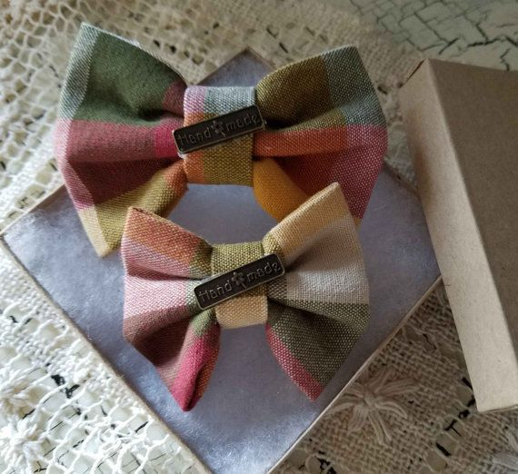 Mommy and Me Plain Hair Bow Set of 2 Vintage Hair by Kyescabinet
