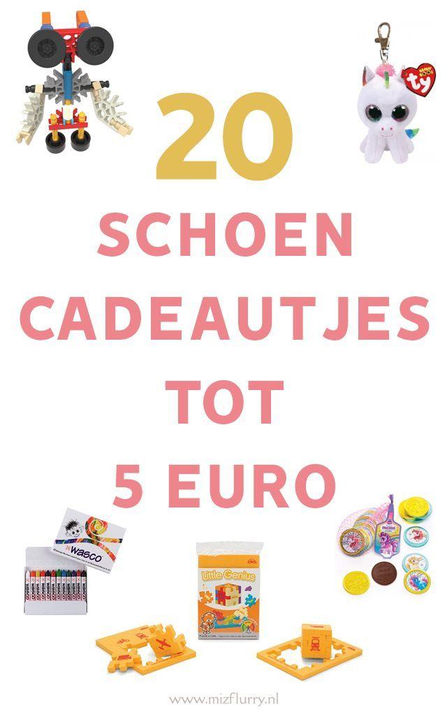 20 Schoencadeautjes Tot 5 Euro Sinterklaas Cadeautjes