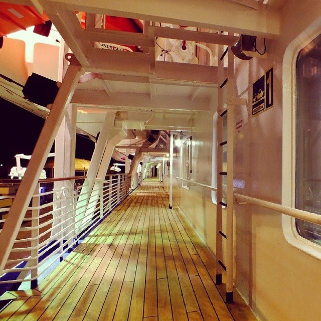 Celestyal Crystal is getting ready to welcome you on your next cruise adventure! Booked your cabin yet? Photo credits @bsdelos  #cruise #ship #travel #onboard #deck #night #adventure