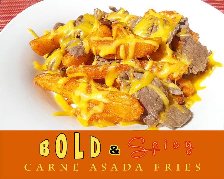 Bold & Spicy Carne Asada Fries #FindYourBOLD