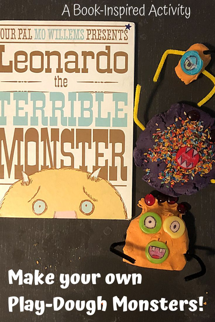 Leonardo The Terrible Monster Play Dough Activity