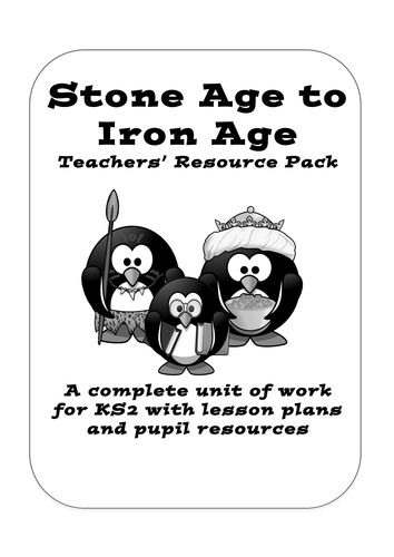 The official Stone Age to Iron Age pack from KS2History.<br /> <br /> Complete unit of work for Year 3 and 4, including full lessons plans, pupil resources...