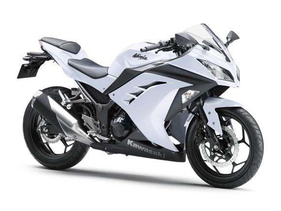 ninja 250. white. heart.