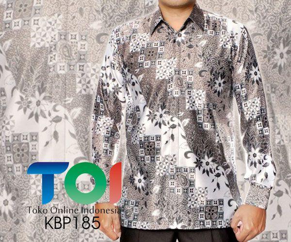 Kemeja Batik Semi Sutra dengan Kode KBP185, merupakan batik printing yang terbuat dari bahan semi sutra dengan jahitan yang rapih. Harga untuk kemeja batik kode 185 ini adalah Rp.475.000