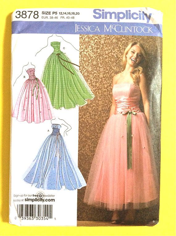 Elegant Uncut Simplicity Strapless Gown Prom Bridesmaid Evening