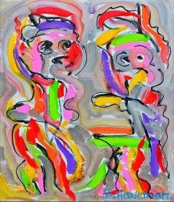 Schilderijen veiling - Ben Haveman - Kwebbelen
