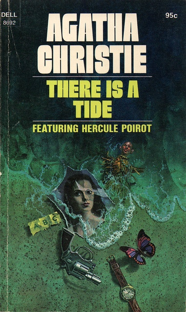 There is a Tide (1974) by Book Covers: Vintage Paperbacks, Mars Sci-Fi, via Flickr