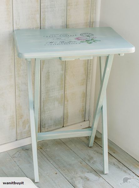 GORGEOUS TABLE - FRENCH STYLE - FOLD DOWN (1) | Trade Me