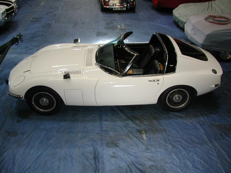 The only targa-topped Toyota 2000 GT in the world...