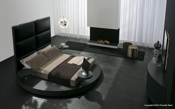 Contemporary bedroom furniture from Presotto