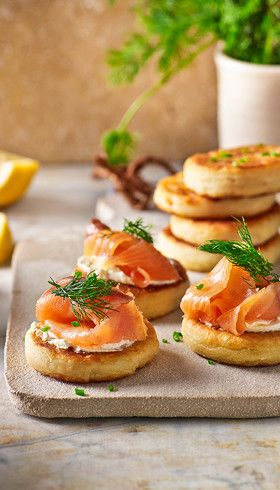 Potato scones: Bagels begone! Topped with luscious smoked salmon or as side for soup, these scones will beat any craving.