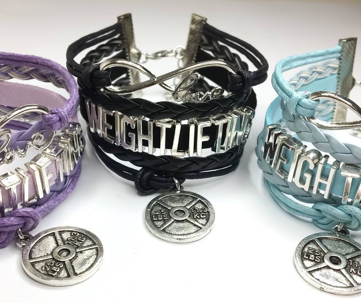 Love Weightlifting Bracelet, Multilayered, Fitness Jewelry, Weightlifting, Bodybuilding, Gifts for Her, Gym, Fitness Charms, Gym Jewelry, by MissFitBoutiqueCA on Etsy https://www.etsy.com/ca/listing/559100251/love-weightlifting-bracelet-multilayered