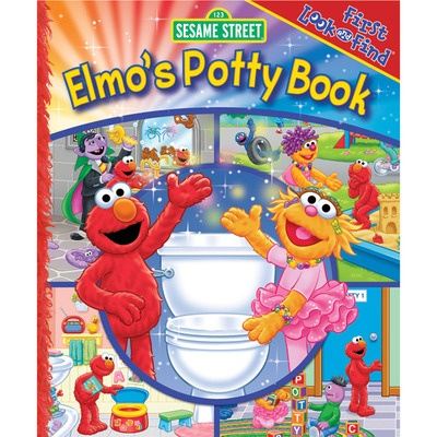 First Look and Find: Elmo's Potty Book [Board Book]