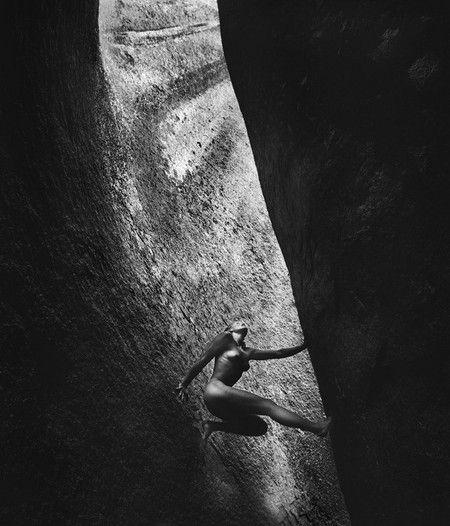 Фотографии на скалах: женщины с твердым, как камень, характером. — фото 2