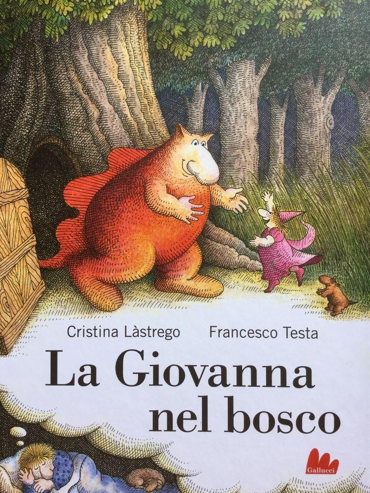 Le avventure in sogno della Giovanna e del suo amico drago Tommasone. Un fumetto riedito felicemente da Gallucci Editore. Recensione su http://gallinevolanti.com/la-giovanna-nel-bosco/