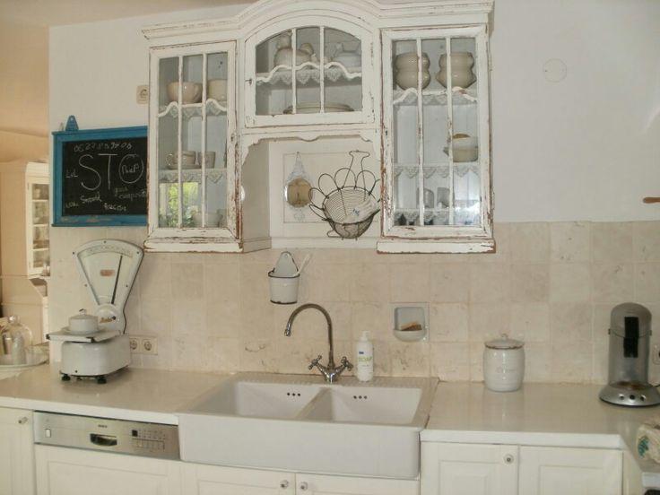 Ouderwetse keuken herinneringen vroeger pinterest - Badkamer retro chic ...