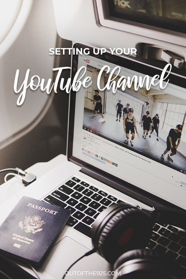 How To Set Up Your Youtube Channel Upload Your First Video