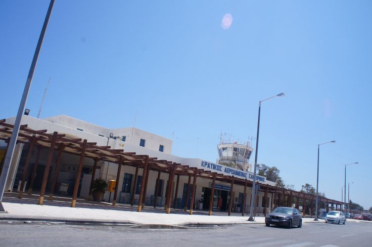 Airport at Santorini