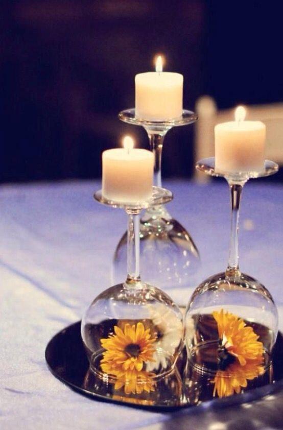 En fin lille dekoration eller en fin bordpynt man kan bruge til sin konfirmation.