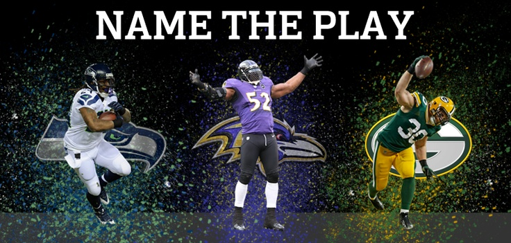 Lynch's long run, Kuhn's bolt into the endzone, and Lewis' epic celebration dance.     Name the Play here http://nflofficial.org/Name-the-Play