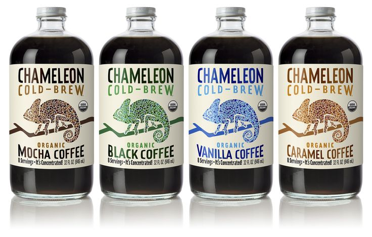 Chameleon Cold Brew — The Dieline - Branding & Packaging Design