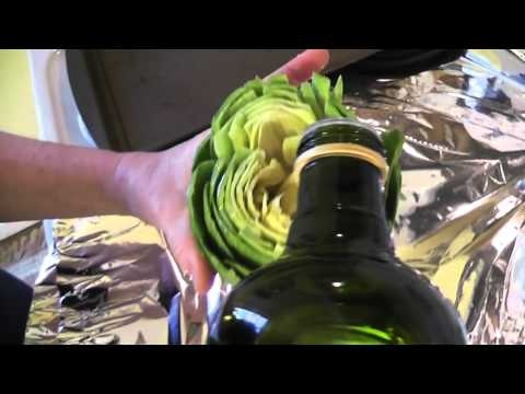"Basic artichoke ""how-to"" & Roasted Artichokes with Garlic & Lemon recipe."