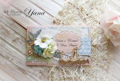 My scrap: Свадебный конверт и новый челлендж)