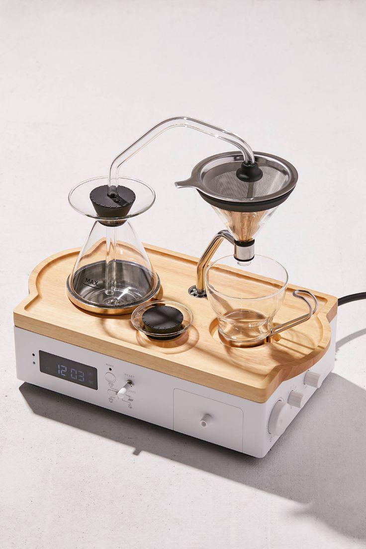 Barisieur coffee brewing alarm clock coffee brewing