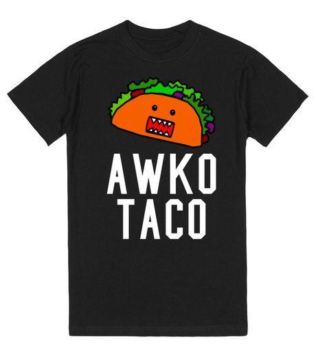 Awko Taco black tee t shirt