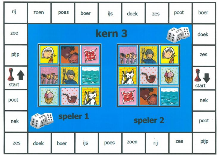 Spelbord na kern 3