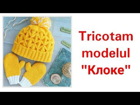 Botoșei tricotati pentru începătoare. (How to knit easy booties) - YouTube