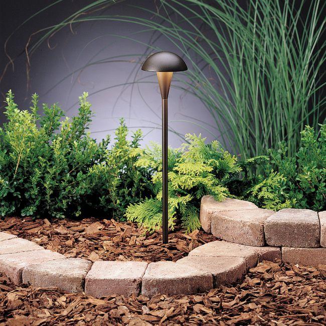 12v Eclipse Path Light By Kichler 15323azt Outdoor Lighting Landscape Outdoor Path Lighting Landscape Lighting