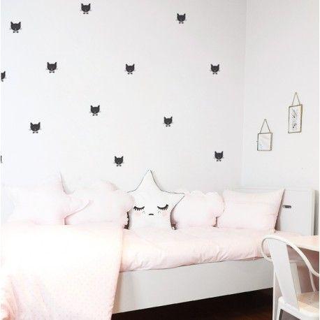 """Sticker """"Abi le chat"""", nanelle, black, cat,"""