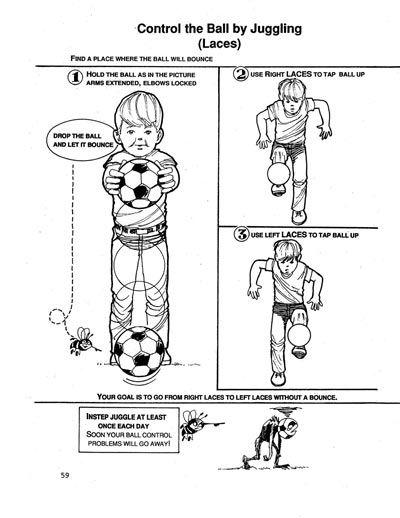 Soccer Tips: Successful Instep Juggling | TeamSnap Blog